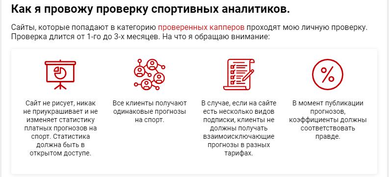 Сервис Kaper.pro по проверке аналитиков
