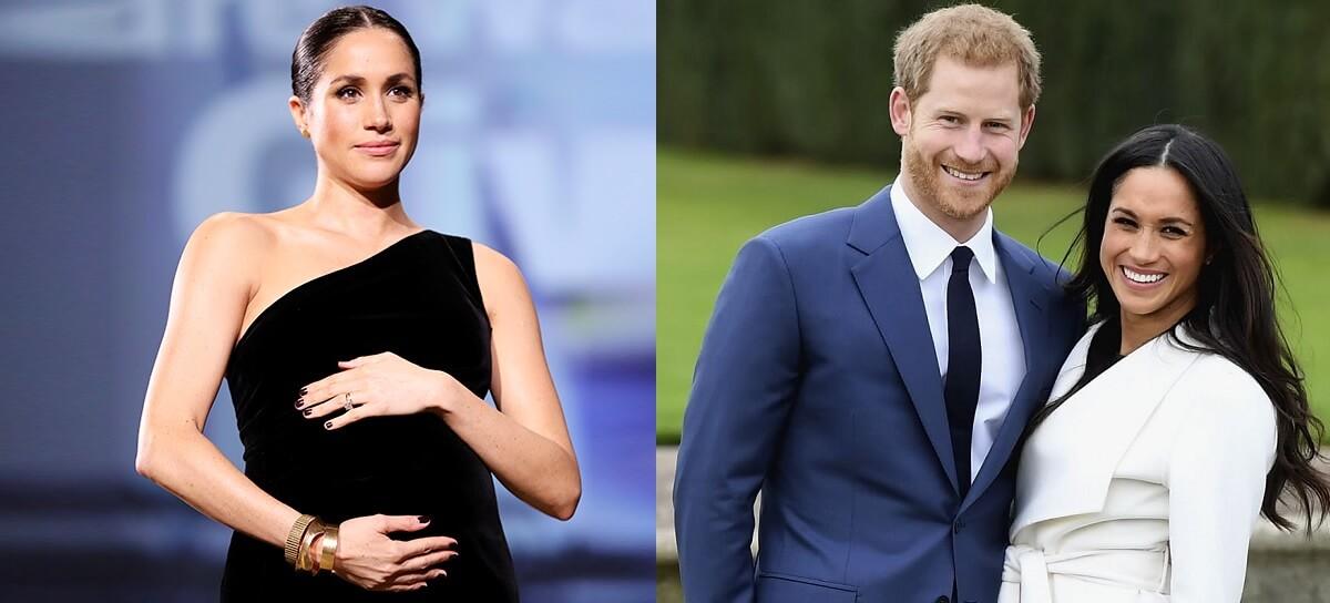 Начат прием ставок на имя ребенка Меган Маркл и принца Гарри